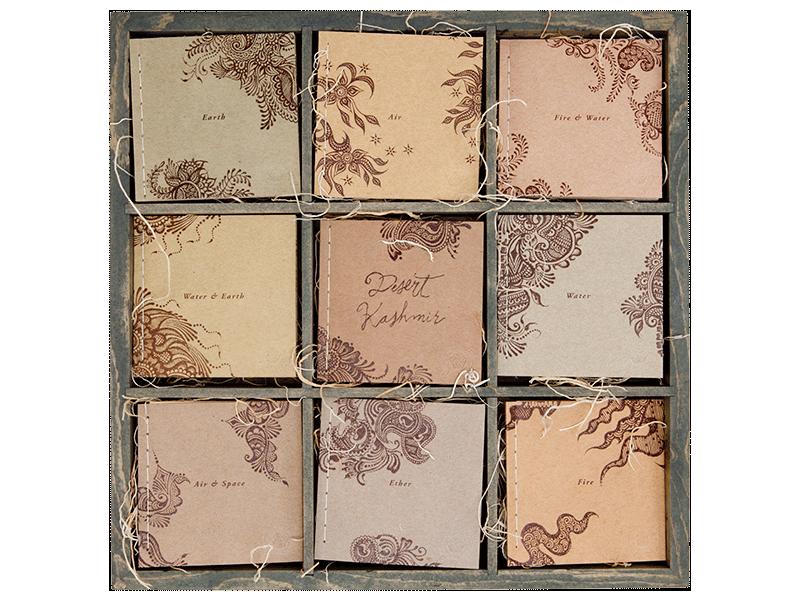 Desert Kashmir Portfolio Box