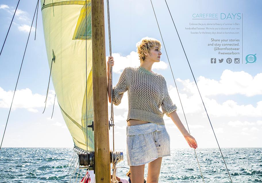 carefree days on sailboat