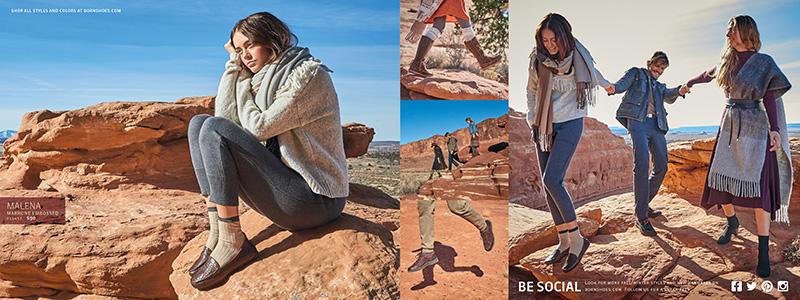 Closing Spread for Born Shoes Consumer Catalog